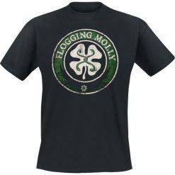 Flogging Molly Distressed T-Shirt czarny. Niebieskie t-shirty męskie z nadrukiem marki bonprix, m, z klasycznym kołnierzykiem, z długim rękawem. Za 74,90 zł.