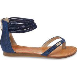 Rzymianki damskie: Sandały skórzane Gingko