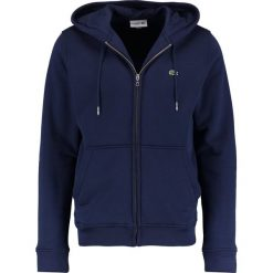 Lacoste Bluza rozpinana marine. Szare bluzy męskie rozpinane marki Lacoste, z bawełny. Za 519,00 zł.