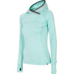 Odzież damska: Bluza treningowa damska BLDF105 - mięta melanż