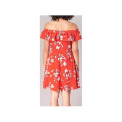 Sukienki krótkie Moony Mood  -. Czerwone sukienki hiszpanki Moony Mood, l, z krótkim rękawem, mini. Za 159,20 zł.