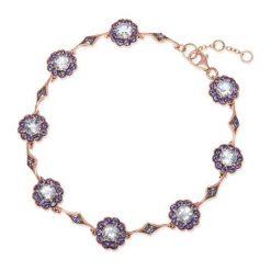 Biżuteria i zegarki damskie: Bransoletka Złota - złoto różowe 585, Iolit...