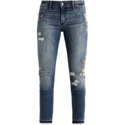 Abercrombie & Fitch Jeans Skinny Fit ripped medium wash. Szare jeansy damskie Abercrombie & Fitch. Za 409,00 zł.