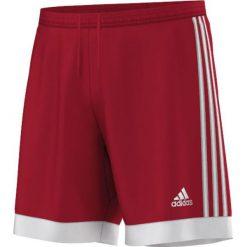 Spodenki i szorty męskie: Adidas Spodenki  męskie Tastigo 15 czerwono-białe r. XXL (S22355)