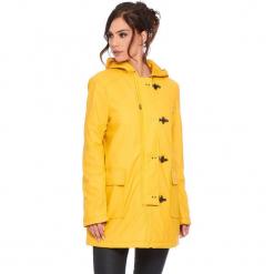 """Parka """"Chloe"""" w kolorze żółtym. Żółte parki damskie marki Mohito, l, z dzianiny. W wyprzedaży za 272,95 zł."""