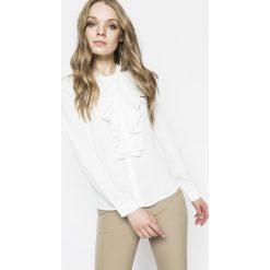 Only - Bluzka. Szare bluzki asymetryczne ONLY, s, z materiału, eleganckie. W wyprzedaży za 79,90 zł.