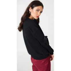 Rut&Circle Sweter z rękawem z elastyczną wstawką Thora - Black. Czarne swetry klasyczne damskie Rut&Circle. W wyprzedaży za 80,98 zł.