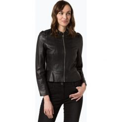 Esprit Collection - Damska kurtka skórzana, czarny. Czarne bomberki damskie Esprit Collection, ze skóry. Za 599,95 zł.