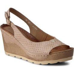 Sandały damskie: Sandały MACIEJKA – 03057-04/00-1 Beż