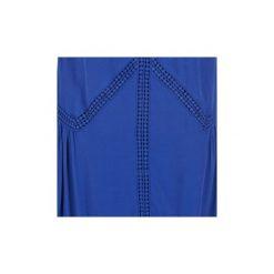 Sukienki krótkie Naf Naf  KLENY. Niebieskie sukienki mini marki NAF NAF, z krótkim rękawem. Za 295,20 zł.