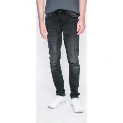 Only & Sons - Jeansy Loom. Szare jeansy męskie slim marki Only & Sons, z bawełny. W wyprzedaży za 79,90 zł.