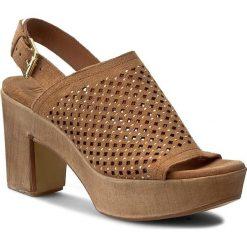 Rzymianki damskie: Sandały BRUNO PREMI – BY BPRIVATE Camoscio E2508X Cuoio