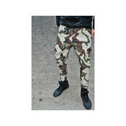 SPODNIE 2 BUTTONS JEANS PANTS UNISEX moro. Szare jeansy męskie marki Button. Za 399,00 zł.