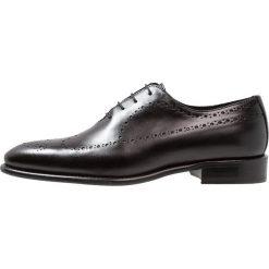 Florsheim CURTIS Eleganckie buty black. Czarne buty wizytowe męskie Florsheim, z materiału, na sznurówki. Za 879,00 zł.
