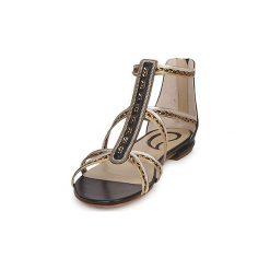 Sandały Etro  SANDALE 3746. Szare sandały damskie Etro. Za 2071,20 zł.