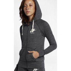 Bluzy sportowe damskie: BLUZA W NSW GYM VNTG HOODIE FZ-883729-060