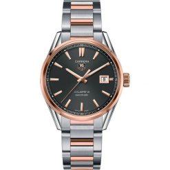 ZEGAREK TAG HEUER CARRERA AUTOMATIC CALIBRE 5 WAR215E.BD0784. Czarne zegarki męskie marki KALENJI, ze stali. Za 17500,00 zł.
