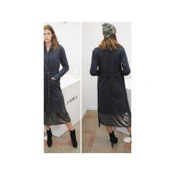 Płaszcz SIMPLE long coat czarny. Czarne płaszcze damskie 3 for u, l, klasyczne. Za 231,20 zł.