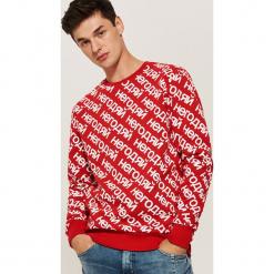 Bluza z nadrukiem all over - Czerwony. Czerwone bluzy męskie rozpinane House, l, z nadrukiem. Za 89,99 zł.
