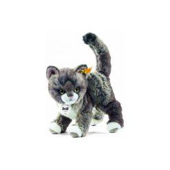 Przytulanki i maskotki: STEIFF Maskotka Kotek Kitty 25 cm szary/beżowy