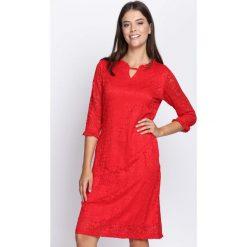 Czerwona Sukienka My Type. Czerwone sukienki hiszpanki Born2be, midi. Za 59,99 zł.