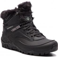 Trekkingi MERRELL - Aurora 6 Ice+ Wp J37216 Black. Czarne buty trekkingowe damskie Merrell. W wyprzedaży za 379,00 zł.