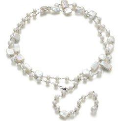 Naszyjniki damskie: Naszyjnik z pereł – (D)107 cm