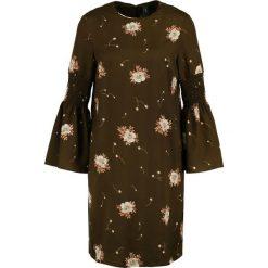 Sukienki hiszpanki: YAS YASFLUME Sukienka letnia military olive