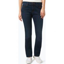 Mavi - Jeansy damskie – Kendra, niebieski. Niebieskie spodnie z wysokim stanem Mavi, z bawełny. Za 299,95 zł.
