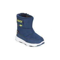 Śniegowce Dziecko Kangaroos  SNOWBALL. Niebieskie buty zimowe chłopięce KangaROOS. Za 161,10 zł.