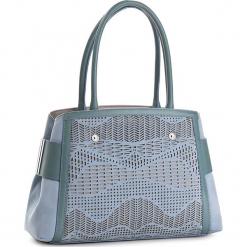 Torebka BALDININI - 77003KKYDOCELN Donna Kidi/Dome. Niebieskie torebki klasyczne damskie Baldinini, z nubiku, duże. W wyprzedaży za 1829,00 zł.