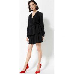 Czarna Sukienka Deep Love. Czarne sukienki other, uniwersalny, mini. Za 69,99 zł.