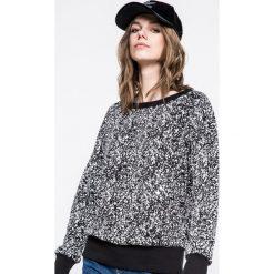 Reebok - Bluza. Szare bluzy rozpinane damskie Reebok, m, z bawełny, bez kaptura. W wyprzedaży za 139,90 zł.