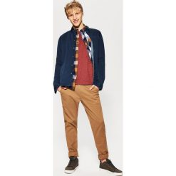 Spodnie męskie: Materiałowe spodnie chino – Beżowy