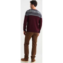 Swetry klasyczne męskie: Selected Homme SHXCHRIST CREW NECK Sweter winetasting