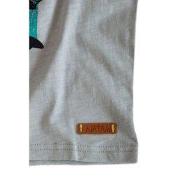 Nativo - T-shirt dziecięcy 104-164 cm. Niebieskie t-shirty chłopięce z nadrukiem marki Nativo, z bawełny. W wyprzedaży za 29,90 zł.
