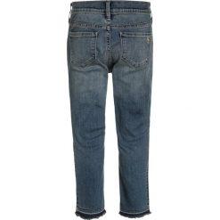 Abercrombie & Fitch ANKLE PULL ON Jeansy Slim Fit medium wash. Niebieskie jeansy chłopięce Abercrombie & Fitch. Za 249,00 zł.