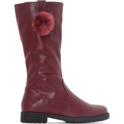 Buty dziecięce: Kozaki z pomponami roz. 28-34