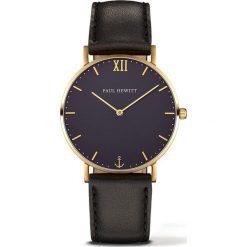 Zegarek unisex Paul Hewitt Sailor PH-SA-G-ST-B-2M. Czarne zegarki damskie Paul Hewitt. Za 675,00 zł.