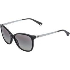 Emporio Armani Okulary przeciwsłoneczne black. Czarne okulary przeciwsłoneczne damskie lenonki Emporio Armani. Za 609,00 zł.
