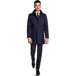 Płaszcz PIETRO PSGR000001. Czarne płaszcze na zamek męskie marki Giacomo Conti, na lato, m, z aplikacjami. Za 599,00 zł.
