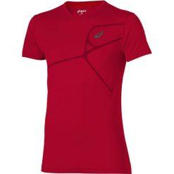 Asics Koszulka Elite SS czerwona r. S (129863 6015). Szare koszulki sportowe męskie marki Asics, z poliesteru. Za 92,23 zł.