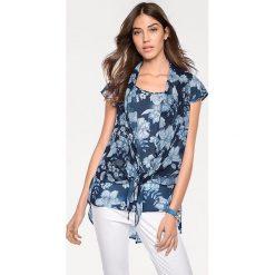 Odzież damska: Bluzka w kolorze niebieskim
