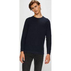 Lee - Sweter. Czarne swetry klasyczne męskie Lee, l, z bawełny, z okrągłym kołnierzem. Za 249,90 zł.