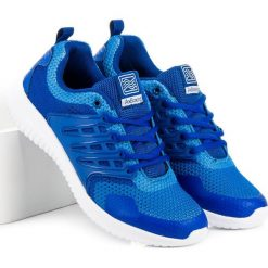 Buty skate męskie: Lekkie obuwie sportowe AX BOXING niebieskie
