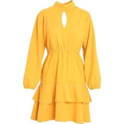 Żółta Sukienka Failure. Żółte sukienki marki Mohito, l, z dzianiny. Za 109,99 zł.