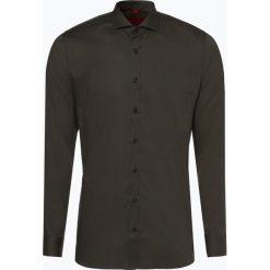 Finshley & Harding - Koszula męska, zielony. Szare koszule męskie na spinki marki S.Oliver, l, z bawełny, z włoskim kołnierzykiem, z długim rękawem. Za 129,95 zł.