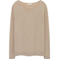 Sweter w kolorze beżowym. Brązowe swetry oversize damskie American Vintage, s. W wyprzedaży za 121,95 zł.