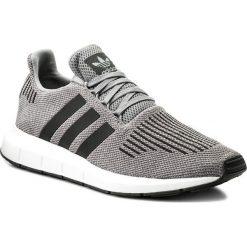 Buty adidas - Swift Run CQ2115 Grethr/Cblack/Mgreyh. Szare halówki męskie Adidas, z materiału. W wyprzedaży za 259,00 zł.