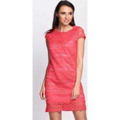 Sukienki: Koralowa Sukienka Chasing Shadows
